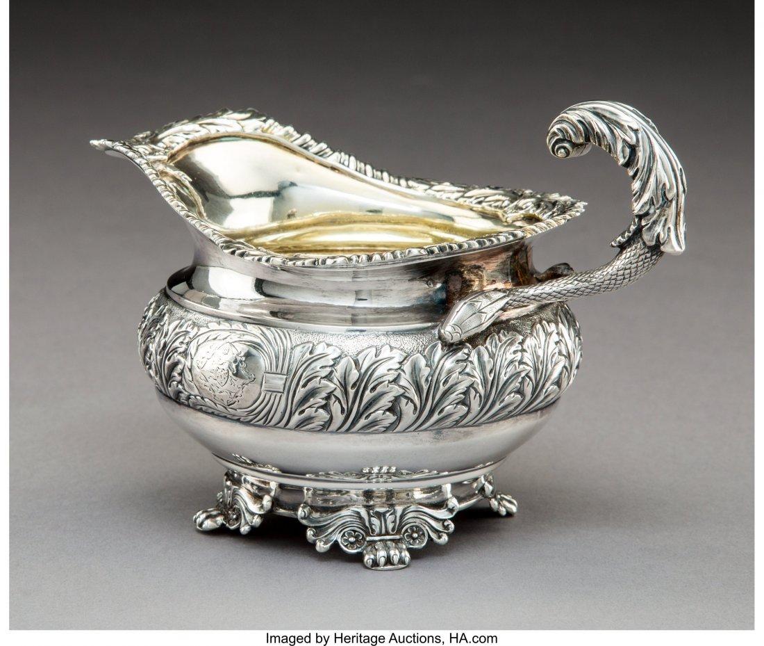 74295: A Joseph Angel I George III Partial Gilt Silver  - 2