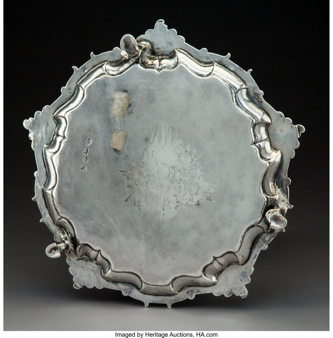 74314: A Hugh Mills Silver Salver, London, 1749 Marks:  - 2