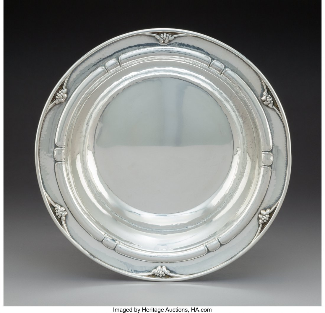 74017: A Georg Jensen Silver Bowl, Copenhagen, Denmark,