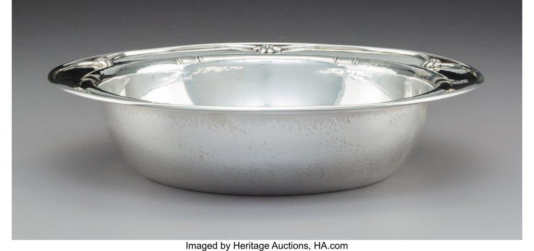 74017: A Georg Jensen Silver Bowl, Copenhagen, Denmark, - 2