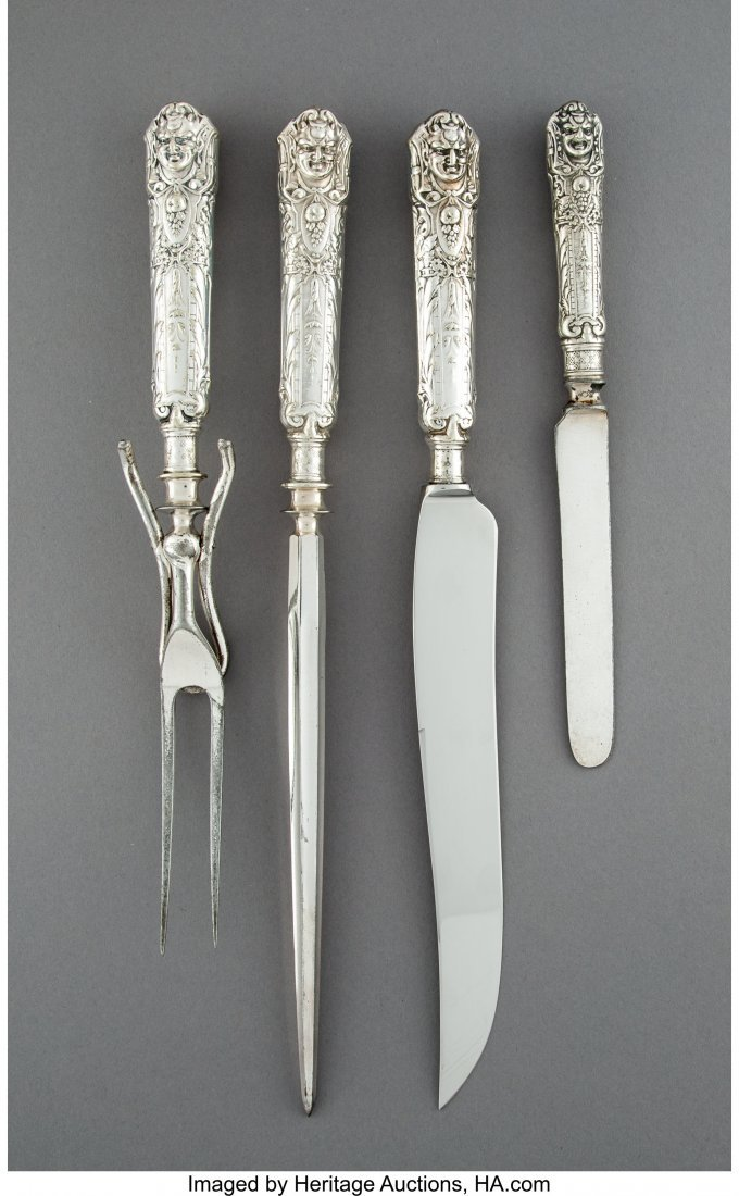 74348: A Three-Piece Reed & Barton Renaissance Pattern