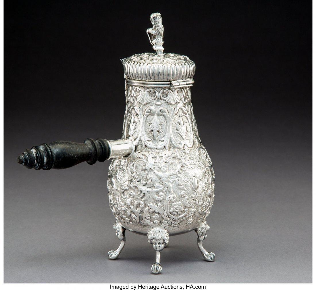74027: A Dutch Silver Hot Milk Pot, late 19th century M - 2