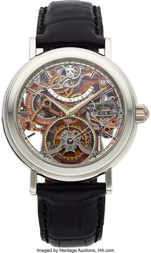 54331: Vacheron Constantin, Highly Important and Extrem