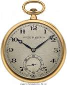 54333 Vacheron  Constantin Fine 18k Gold Pocket Watch