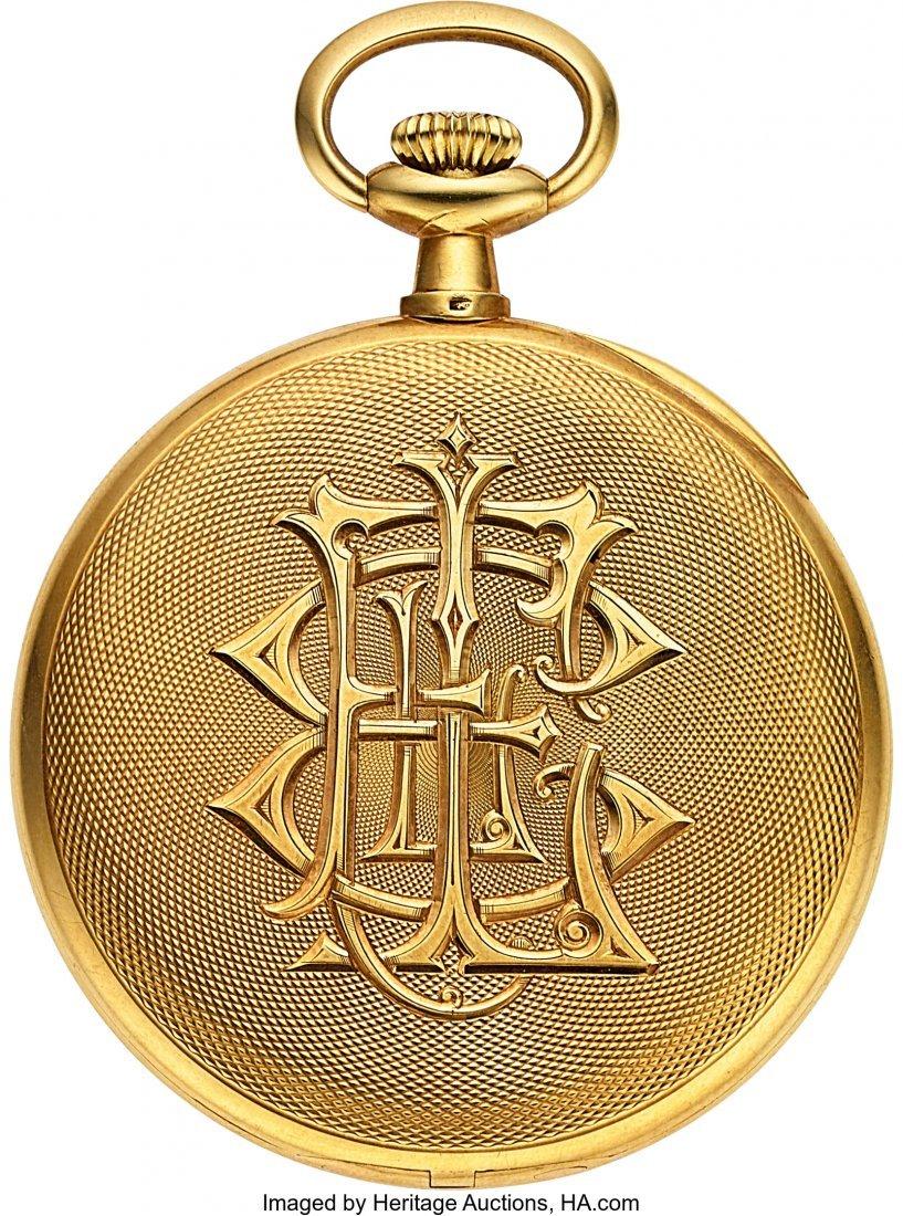 54334: Vacheron & Constantin 18k Gold Pocket Watch, Ori - 2