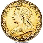 54258 Vacheron  Constantin Rare Queen Victoria Sovere