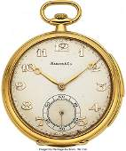 54442 Cresarrow Watch Co Gold Minute Repeater For Mar