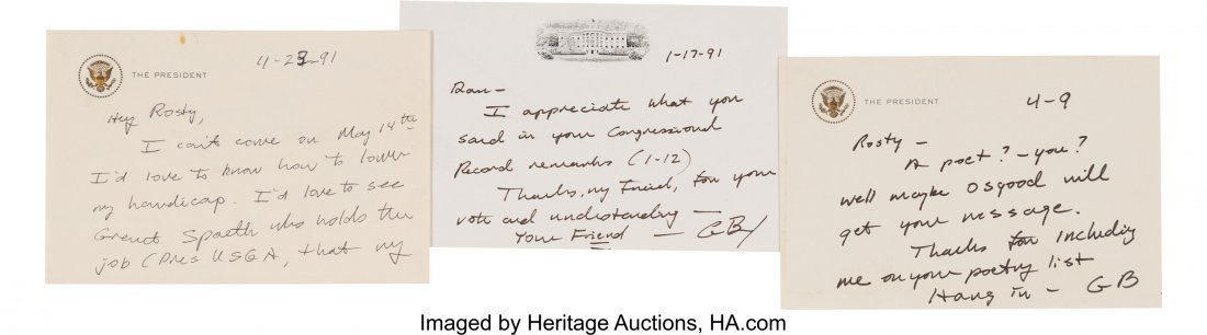 47132: George H. W. Bush Archive. A group composed of s - 2