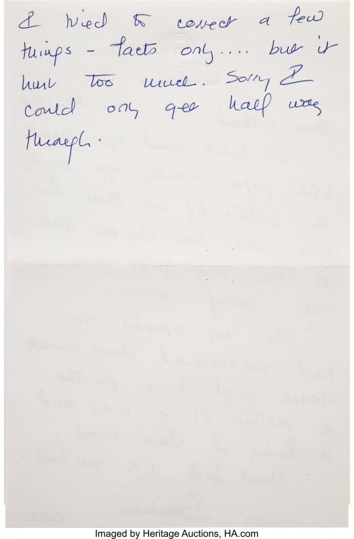 47133: George H.W. Bush Archive of Letters.  A small gr - 8