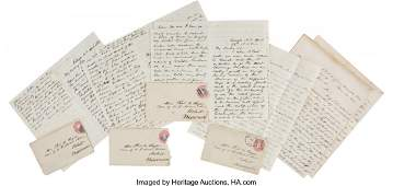 47071: Thomas H. Ruger Letters (4) Recounting the Close