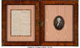 """47090: Thomas Jefferson Autograph Letter Signed """"Th: J"""