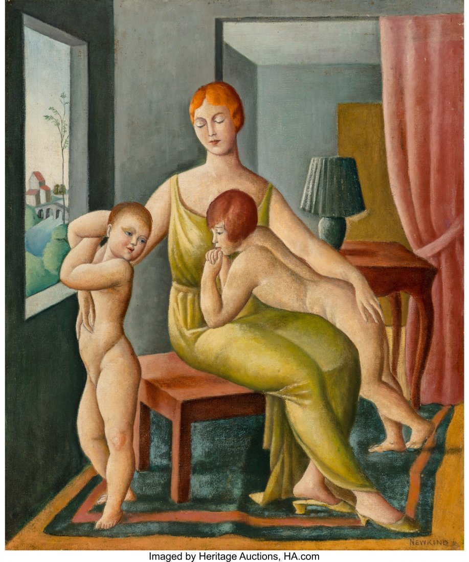 68104: Nathalie Newking (American, 1904-1954) Mother an