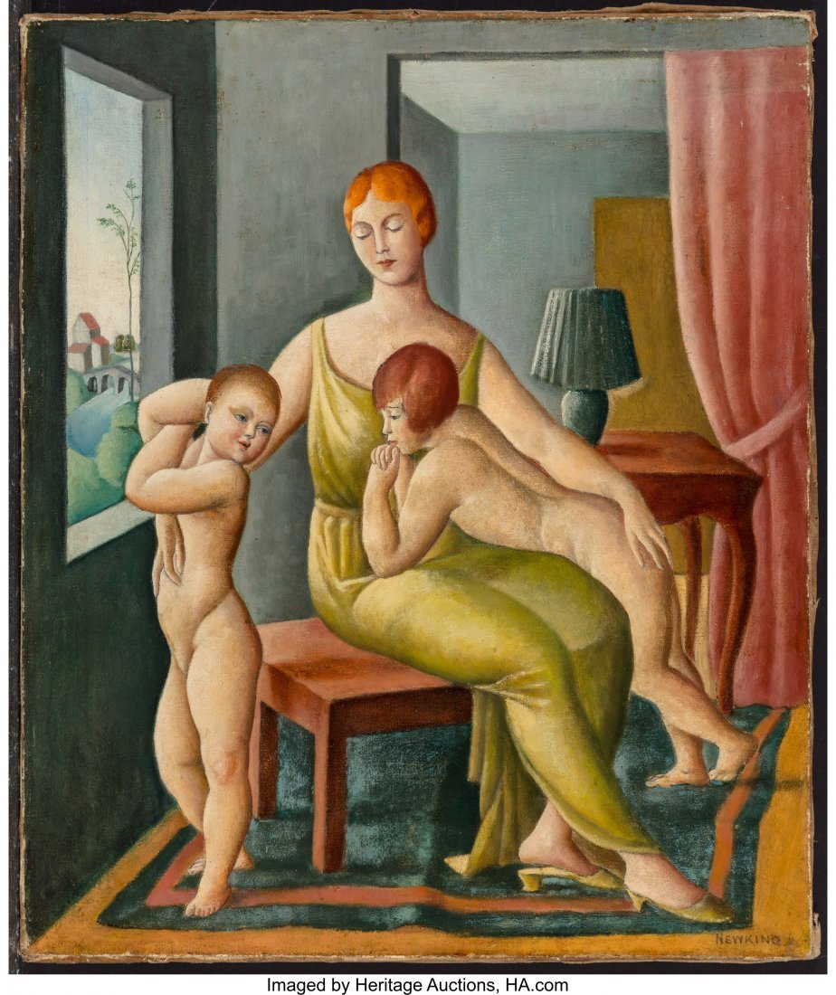 68104: Nathalie Newking (American, 1904-1954) Mother an - 3