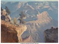 68041: Ralph Love (American, 1907-1992) Canyon Morning