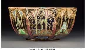 79293: Wedgwood Fairyland Lustre Porcelain Octagonal Mo