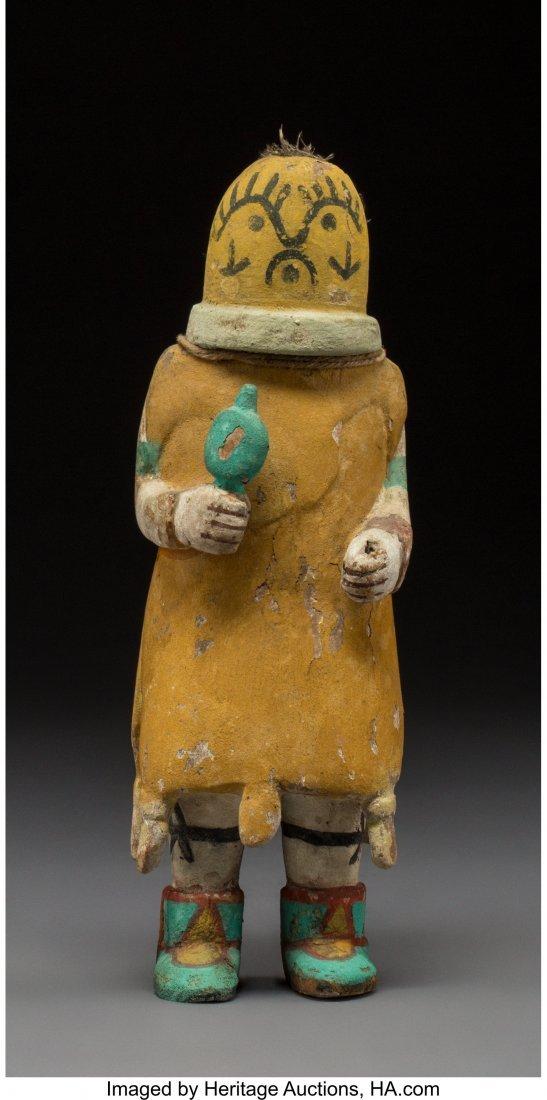 70003: A Hopi Kachina Doll  c. 1950  cottonwood, paint