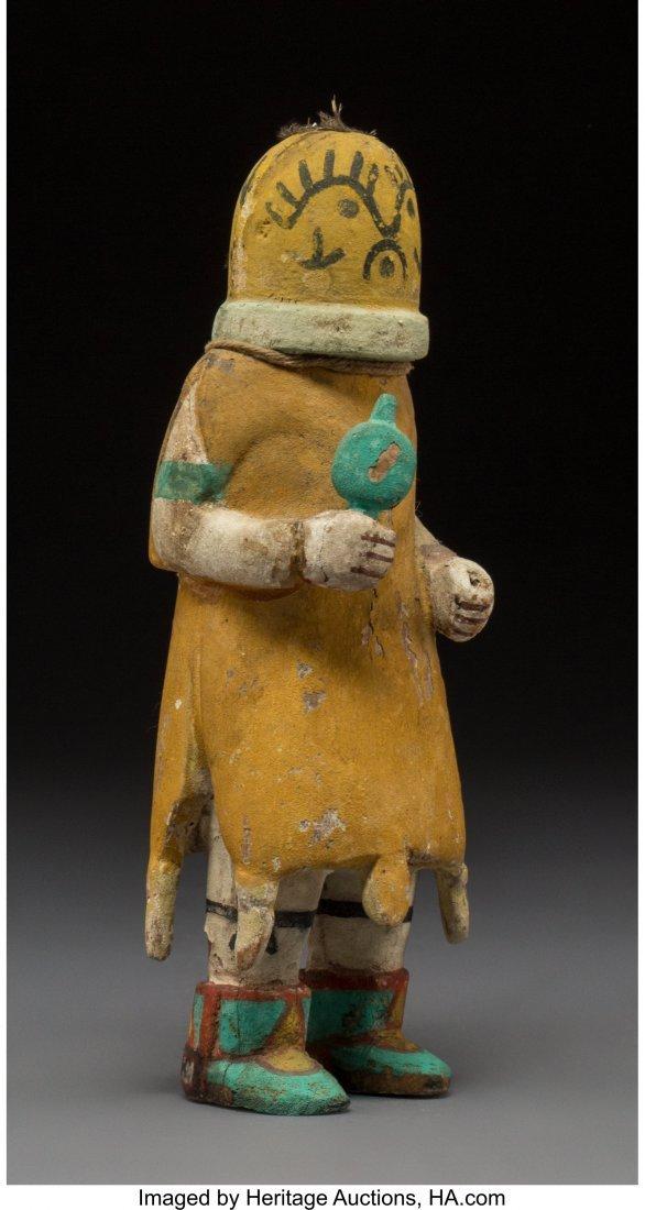 70003: A Hopi Kachina Doll  c. 1950  cottonwood, paint  - 2