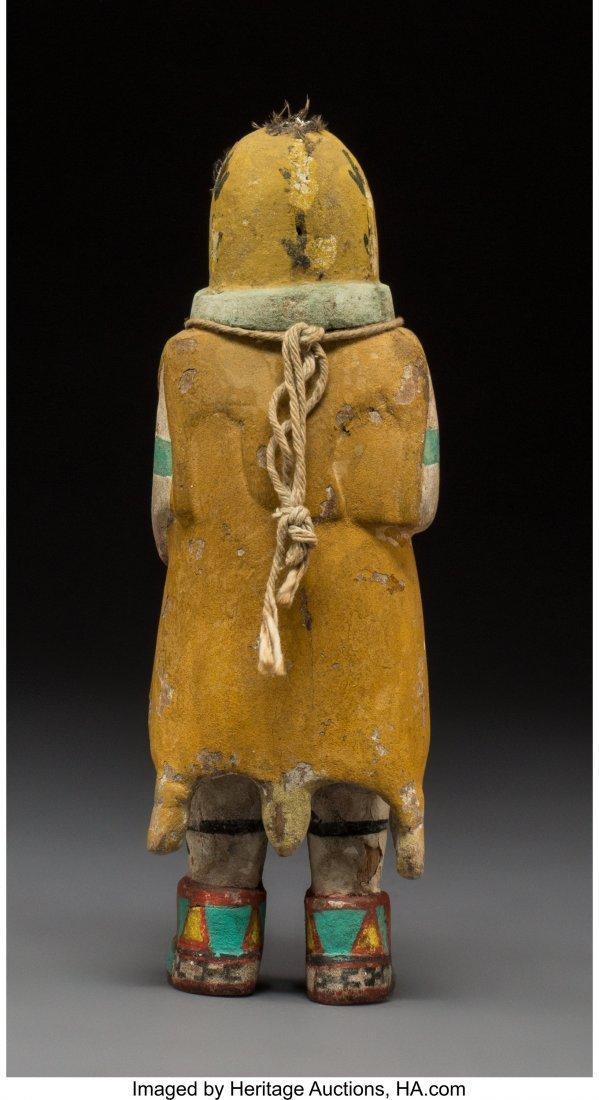 70003: A Hopi Kachina Doll  c. 1950  cottonwood, paint  - 3