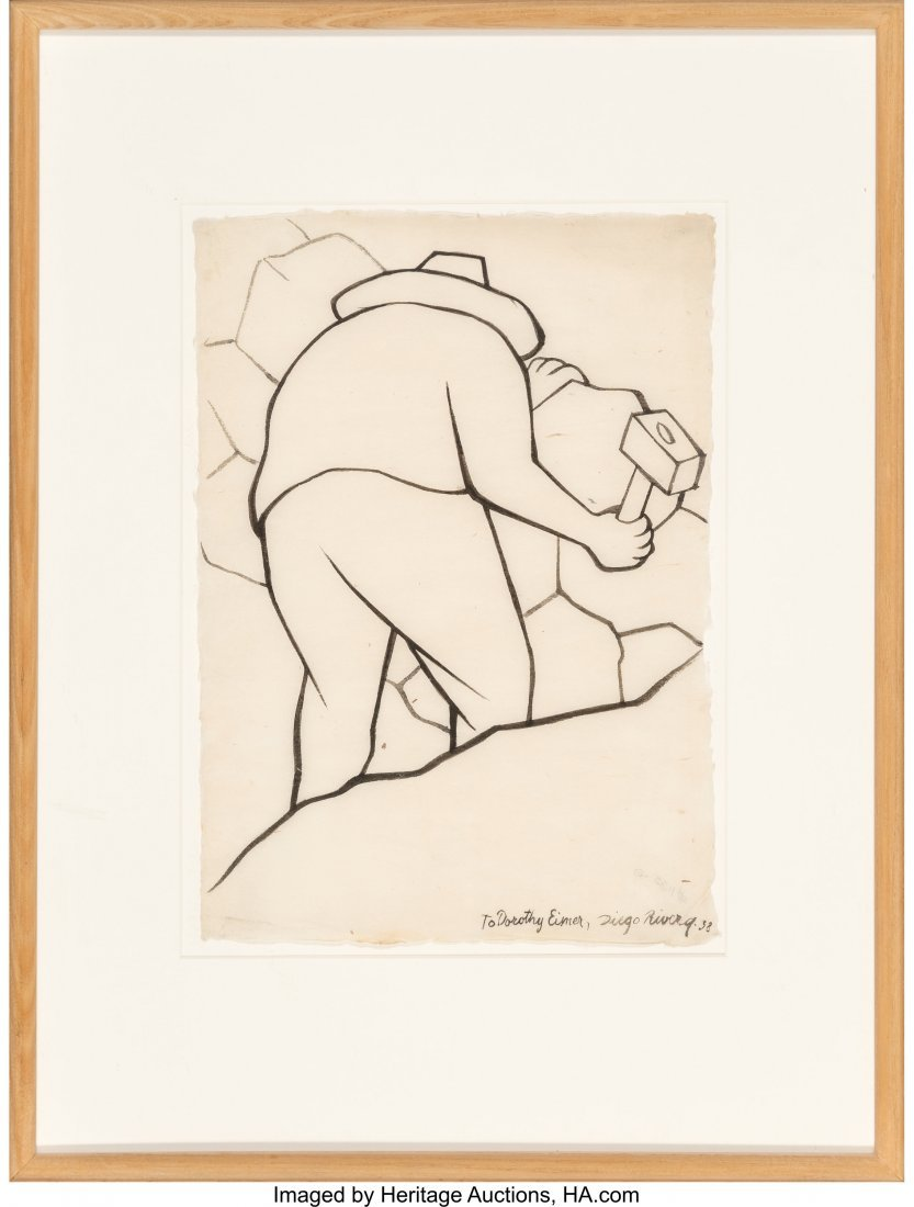 Diego Rivera (1886-1957) Untitled, 1938 Ink on paper - 2
