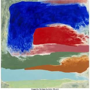 Friedel Dzubas (1915-1994) Beyond Deep, 1976 Acrylic on