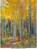 Curt Walters (American, b. 1950) Fall Accordance Oil on