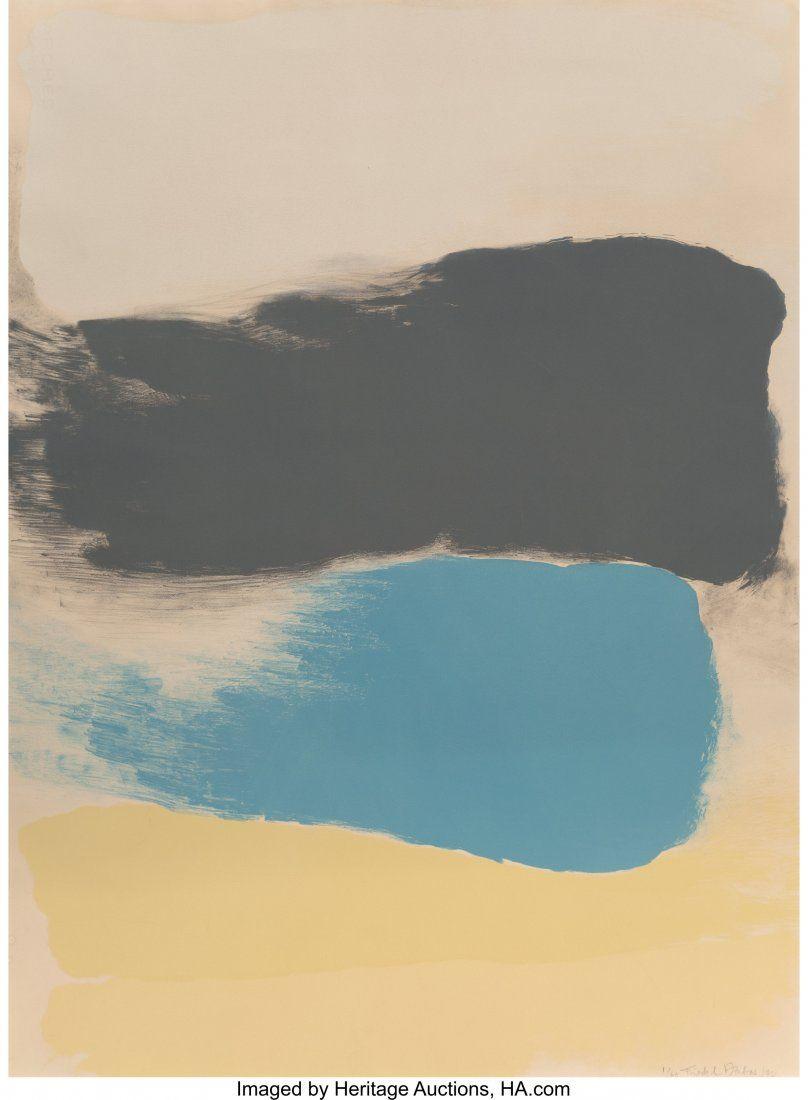 Friedel Dzubas (German/American, 1915-1994) Untitled,