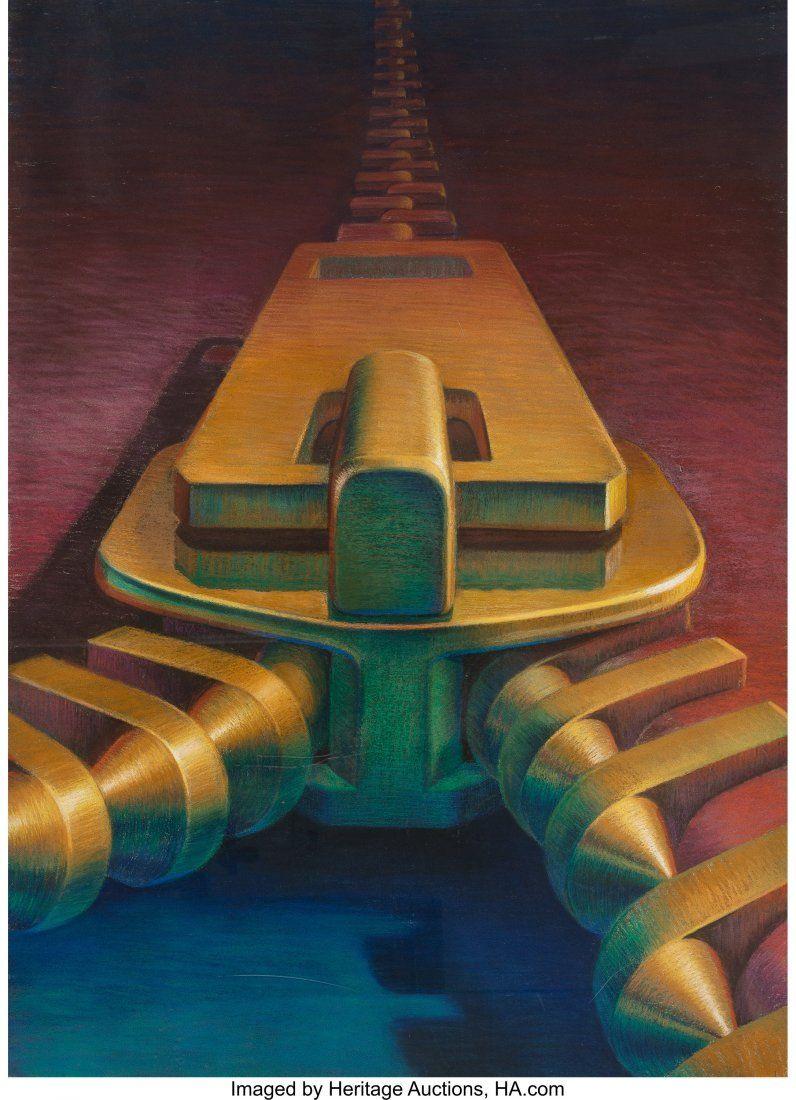 Leonard J. Koscianski (American, b. 1952) Untitled,