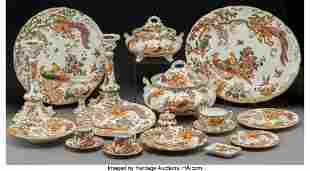 A One Hundred Thirty-Nine-Piece Royal Crown Derby Olde