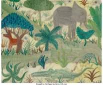 61974: Henri Hecht Maik (French, 1922-1993) Jungle (The