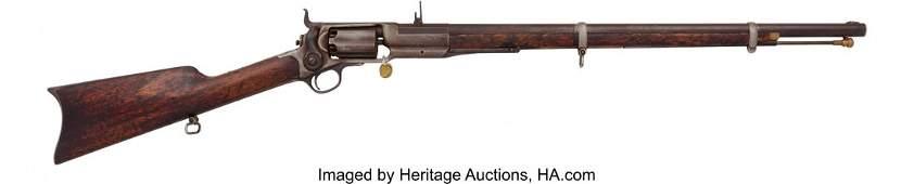 40138: Colt Model 1855 Revolving Rifle. Serial no. 223