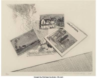 65029: David Hockney (b. 1937) For John Constable, 1976