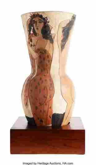 65084: Pablo Picasso (1881-1973) Grand vase aux femmes