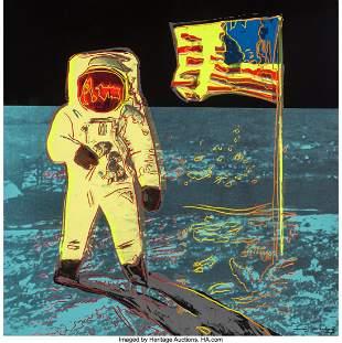 65103: Andy Warhol (1928-1987) Moonwalk, 1987 Screenpri