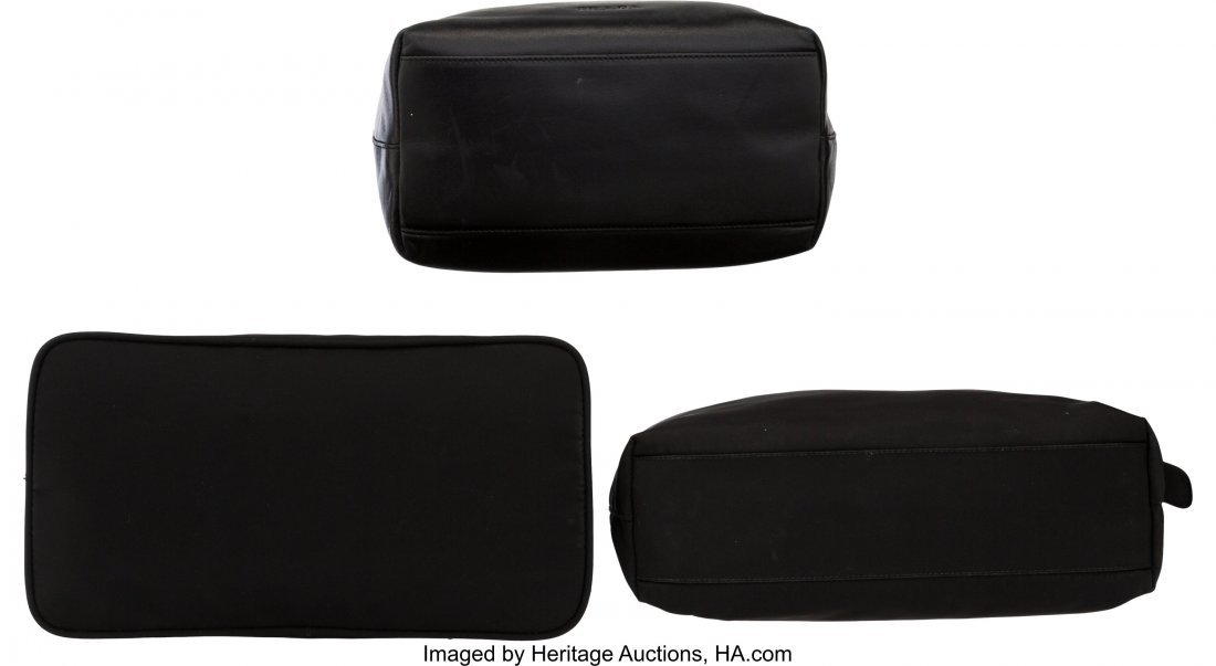 58024: Prada Set of Three: Small Black Bags The Collect - 3