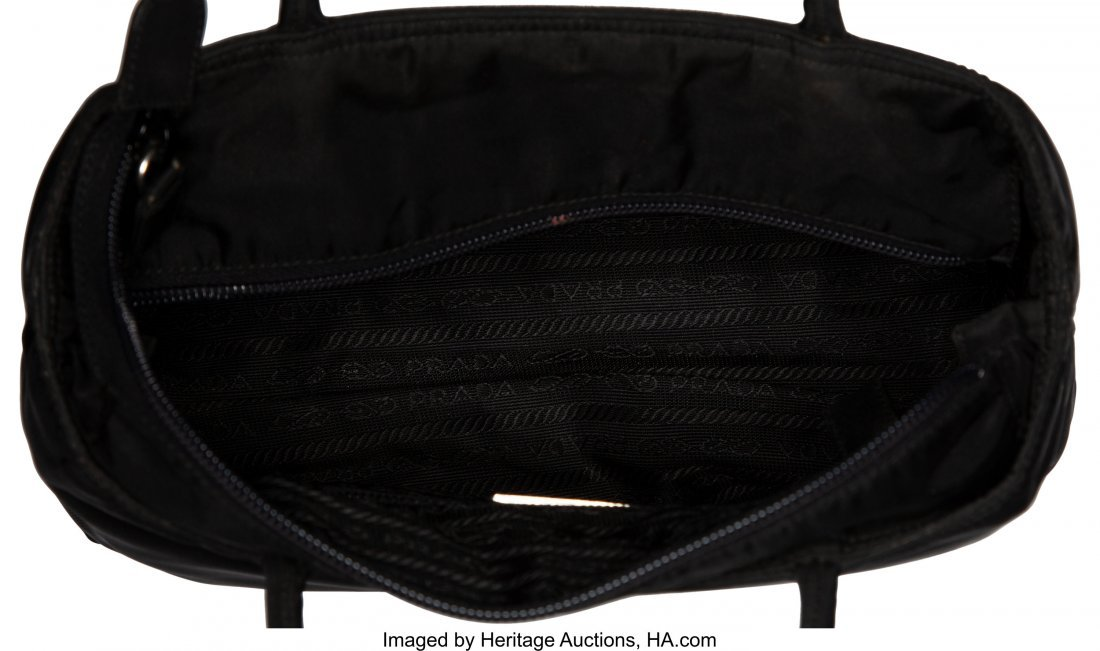 58024: Prada Set of Three: Small Black Bags The Collect - 6
