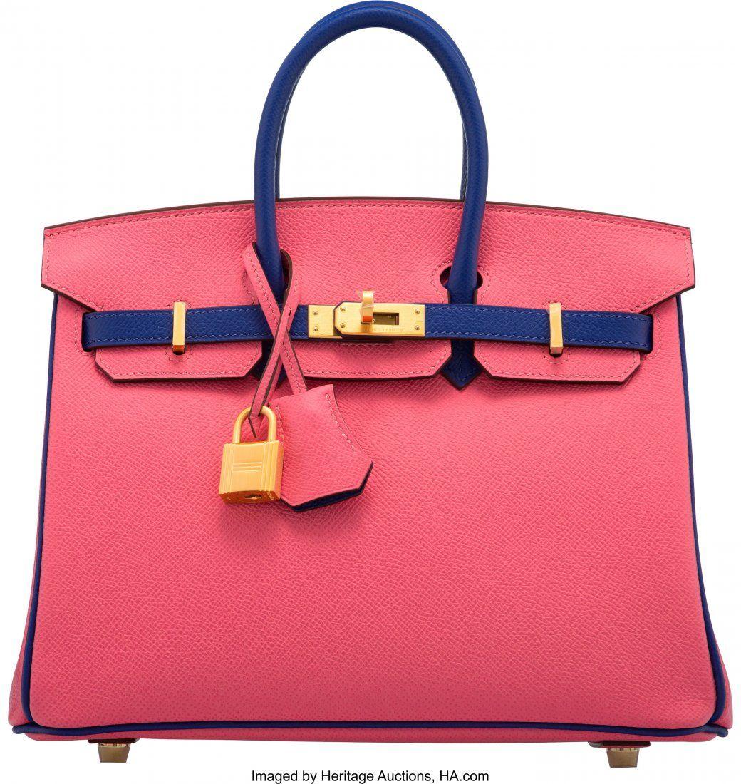 58065: Hermès Special Order Horseshoe 25cm Rose