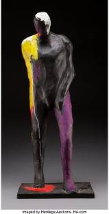 68030: Fritz Scholder (American, 1937-2005) Painted Man