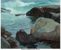 68174 Newell Convers Wyeth American 18821945 Rocks