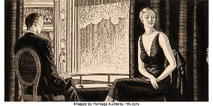 68211: Rockwell Kent (American, 1882-1971) Marcus Jewel