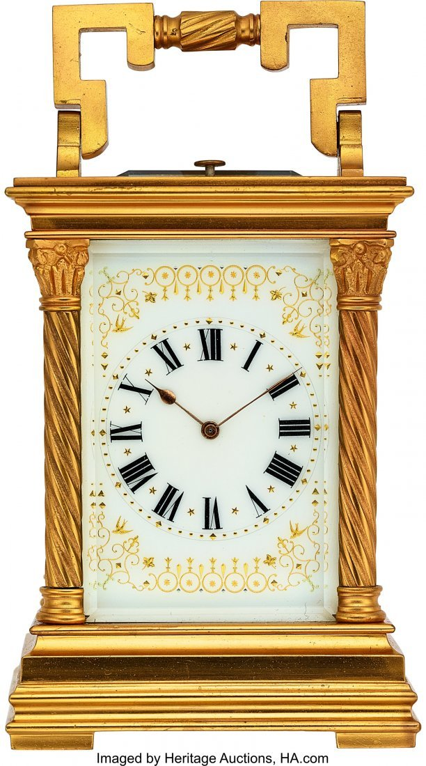 54009: French, Fine Striking & Repeating Carriage Clock