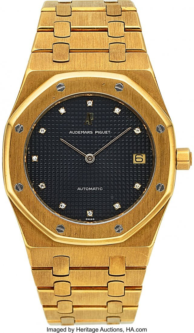 54177: Audemars Piguet, Rare Royal Oak Jumbo, Ref. 5402