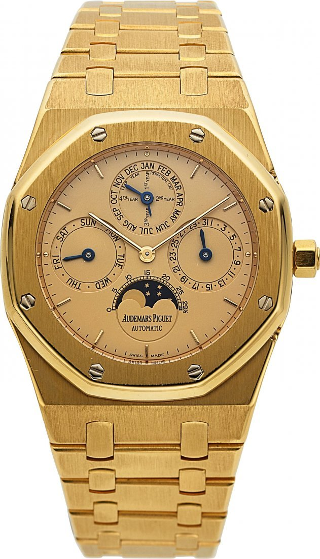 54178: Audemars Piguet, Very Fine Royal Oak Perpetual C