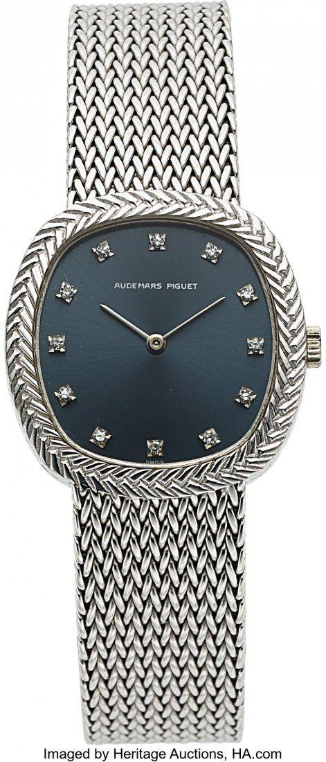 Audemars Piguet, Fine Ladies 18K White Gold and