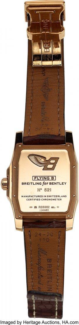 54020: Breitling, Fine 18K Rose Gold Breitling for Bent - 2