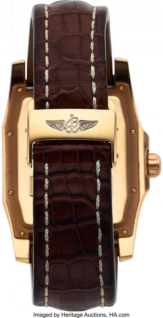 54020: Breitling, Fine 18K Rose Gold Breitling for Bent - 5
