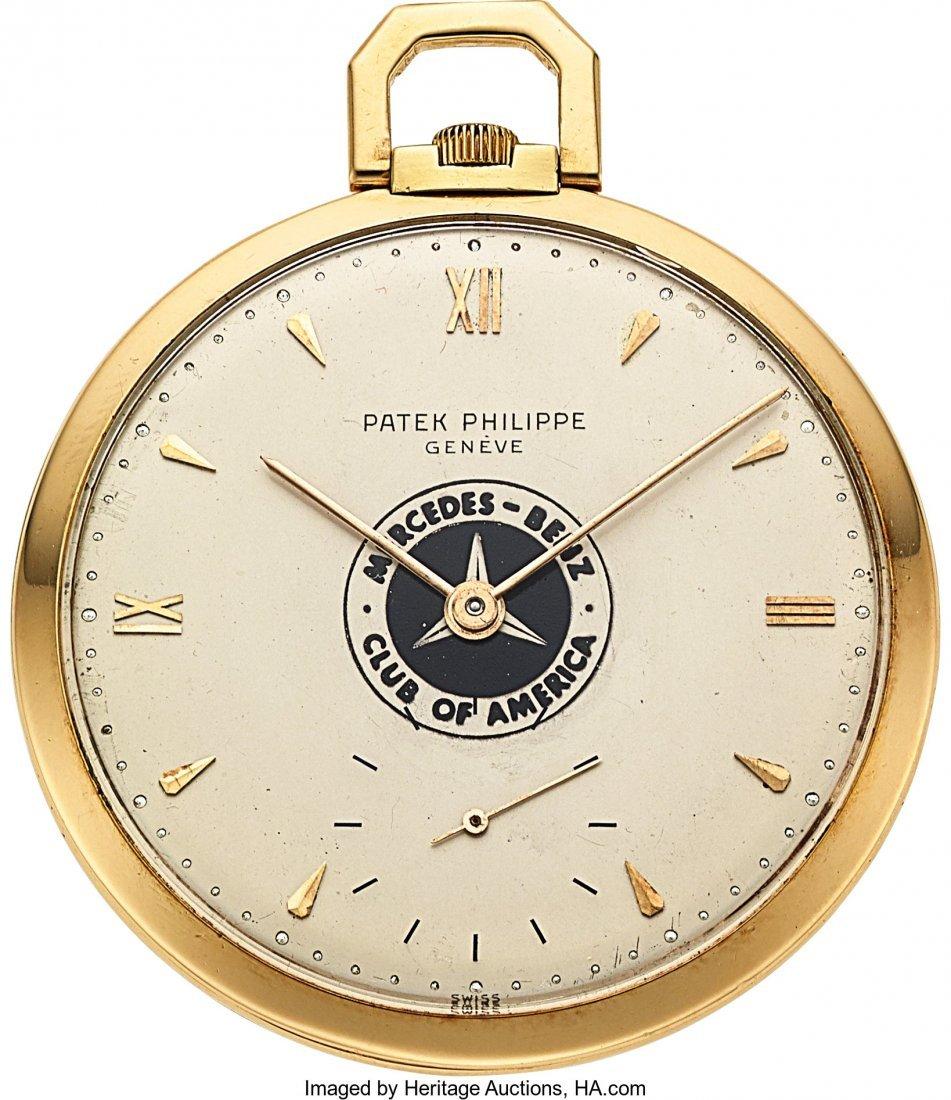 """54103: Patek Philippe & Co., 18k Gold """"Mercedes Benz Cu"""