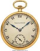 54303 Patek Philippe amp Cie 18k Gold Gents Pocket Wat