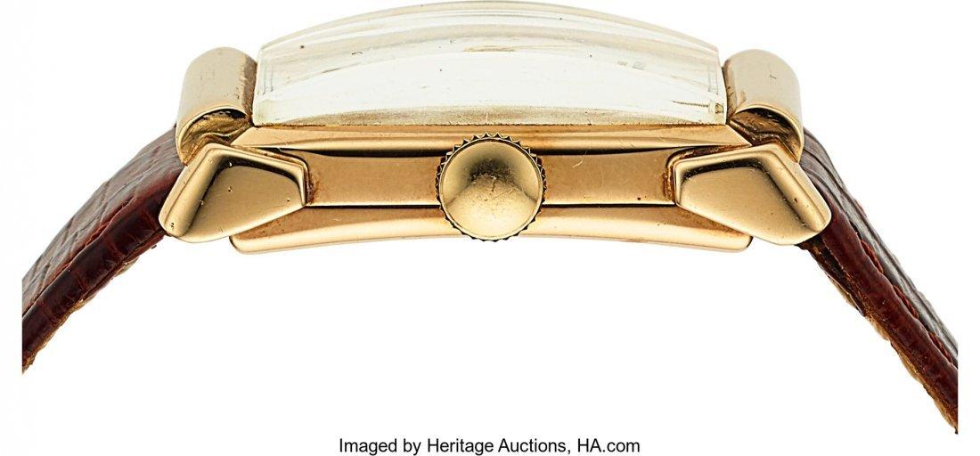 54071: Vacheron & Constantin, 14k Gold Vintage Rectangu - 2