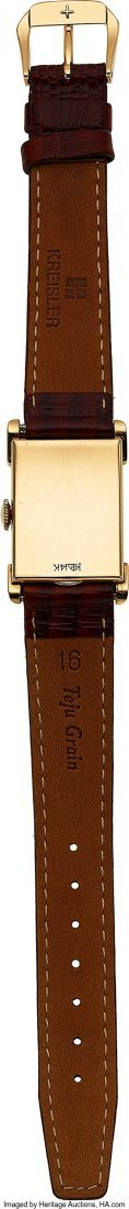 54071: Vacheron & Constantin, 14k Gold Vintage Rectangu - 3