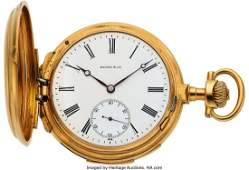 54316 Baume amp Cie First Quality 18k Gold Minute Repea